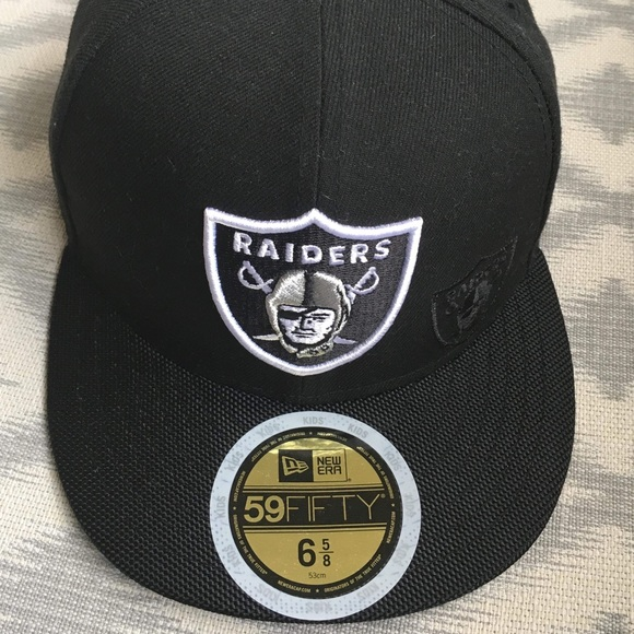 bf15d9102bd Brand New Raiders Hat - youth size 6 5 8
